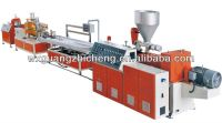 26KW Power ,SJSZ 51 Twin Conical Screw Extruder Machine for PVC Wall and Ceiling Panels Production