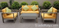 Aluminum sofa set for outdoor use