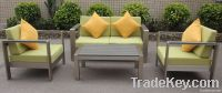 Sofa set suitable for indoor and outdoor use