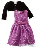 2013 girls fashion dress of branded kids clothes