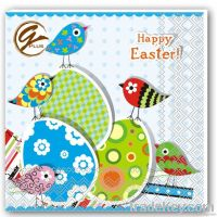 easter design napkin.serviettes