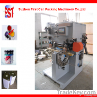 Post-feeding  welding machine for can body