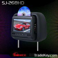 7'' slot-in headrest DVD player