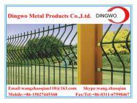 bending triangular welded wire mesh fence
