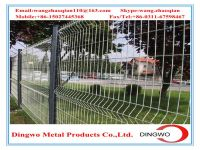 bending  wire mesh fence