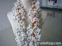 soft lace fancy yarn for knitting scarf