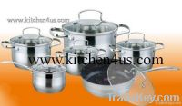 Cookware Set(Stainless Steal)