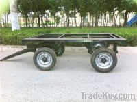 6 ton platbed transportation trailer in high quality