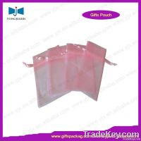 Drawstring gift packaging organza bag