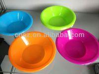 colorful food grade PP plastic bowl