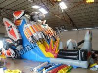 2014 hot inflatable slide price
