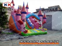 new design inflatable dry slide for rental