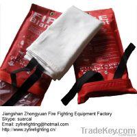 en1869 certified fiberglass anti fire blanket