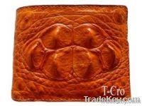 Crocodile wallet for man, crocodile wallet, crocodile belt, python wallet, python belt
