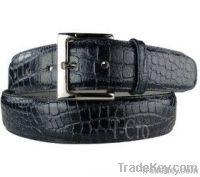 TCRO crocodile belts