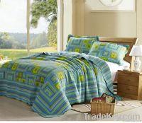 100%cotton washable patchwork quilt