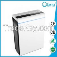 OLS-K07A Design professional smoke sensor hepa air purifier for home and office
