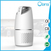 Olans K05A Car air purifier with HEPA active carbon filter, air purifier for car