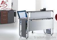 modern aluminium reception desks