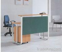 fashion design aluminium reception desks