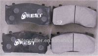 Truck Brake Pad 29115 for Benz Atego