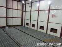 G series pneumatic conveying sandblasting booth