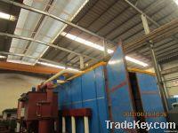 Wind Power Recycling Sandblasting Room