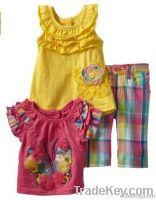 2013 SPRING GIRLS short sleeve dress / childrens clothes