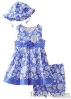 Children's clothes boutique girl's dress 2013