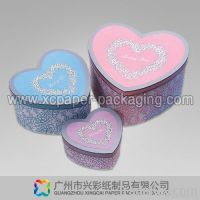 heart shaped paper boxes