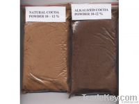 Cocoa Powder, natural and alkalized