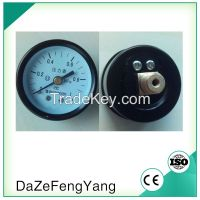 General dry economy monometer bourdon tube type pressure gauge