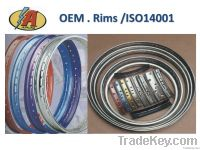 Motorcycle Wheel Rims with 36 or 40 holes