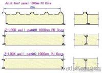 SP-PU-C/M Continuous PU(Polyurethane) Sandwich Panel Production Line