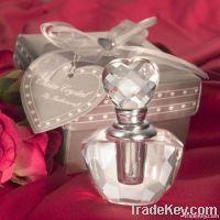 Crystal Perfume Bottle Favor