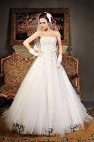 Organza Sleeveless Wedding Dress