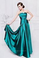 Stretchy Imitated Silk Evening Dress