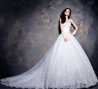 Luxurious Exquisite Gown Wedding Dress