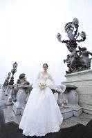 Charming Long Sleeve Wedding Dress
