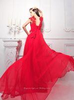 Sleeveless Chiffon Floor Length Evening Dress