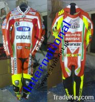 Valentino Rossi Motorcycle Leather Suits