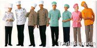 Restaurant and bar uniforms Chef uniforms Chef coat Chef cloth