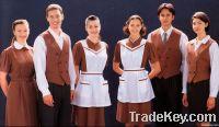 Restaurant waiter waitrss uniform Restaurant uniform Restaurant wear
