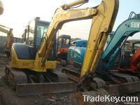 Used komatsu crawler excavator pc55