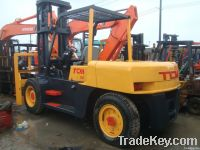 Good quality used 10 ton TCM forklift in 2010 for sell