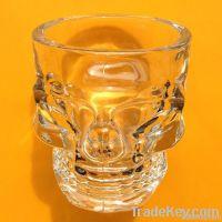 Skull-Shaped Shot Glass