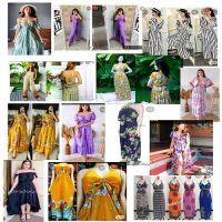 summer dress, sexy dress, beach dress, smocked dress, sabrina, daily clothing, pyjamas, maternity, ethnic, traditional, jumpsuit, sleepwear, muslim cloth, abaya, kaftan, baju kurung, etc