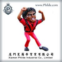 Dancing Action Figure Polyresin Bobblehead Dolls