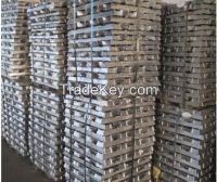 Zinc Ingot Purity 99.995%