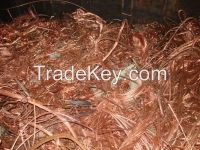 copper scrap / copper wire for sale 99.95%